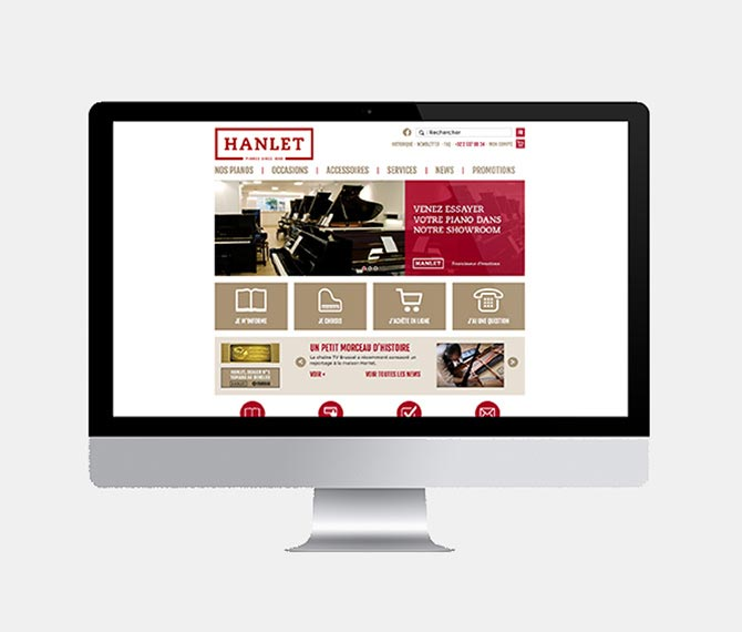 Hanlet website