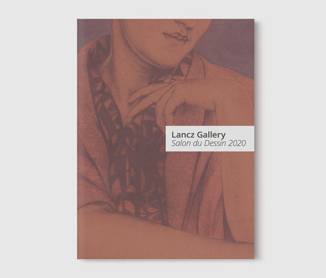 Lancz Gallery Salon du Dessin 2020 - Cover
