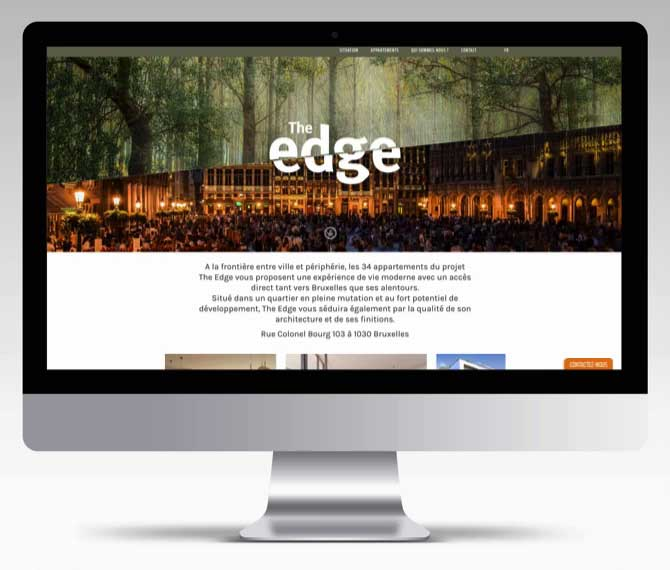 The Edge - website